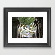 Color Pop Framed Art Print