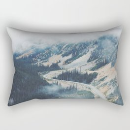 Mountain Loops Rectangular Pillow