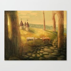 New Neighbours Canvas Print