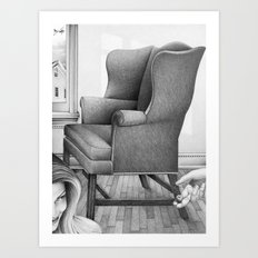 the best thing that ever happened to me was yesterday Art Print
