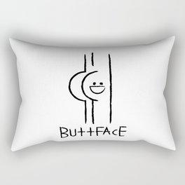 Buttface Rectangular Pillow