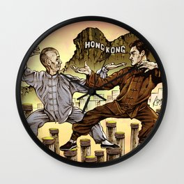 Ip Man & Jun Fan Wall Clock