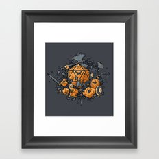 RPG UNITED Framed Art Print