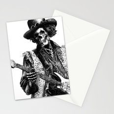 The Legend of Guitarist Stationery Cards