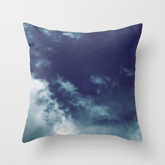 Dreamy Clouds I Throw Pillow