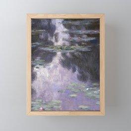 Water Lilies by Claude Monet Framed Mini Art Print