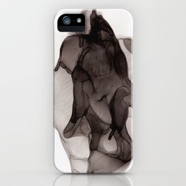 Black Blot 3 iPhone Case