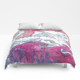 Sunrise Dragon Comforters