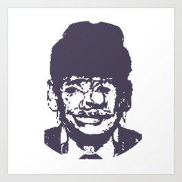 Faces, 2 Art Print