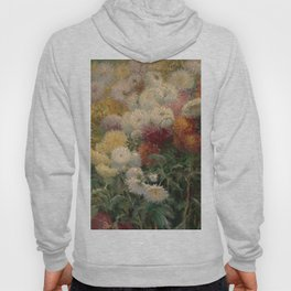Chrysanthemums in the Garden at Petit-Gennevilliers - Claude Monet Hoody