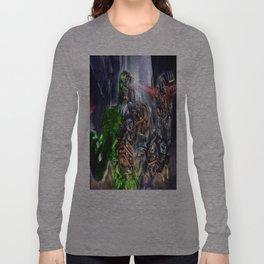 Green Ape Evolution Long Sleeve T-shirt