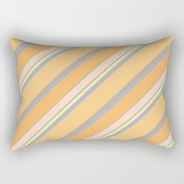 Orange Cream Rectangular Pillow