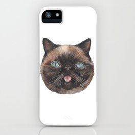 Der the Cat - artist Ellie Hoult iPhone Case
