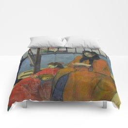 "Paul Gauguin ""La Famille Schuffenecker"" Comforters"