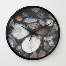 Woodsy Wall Clock