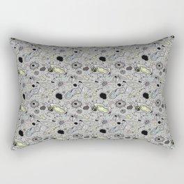 """Cells and bacteria's party"" Rectangular Pillow"