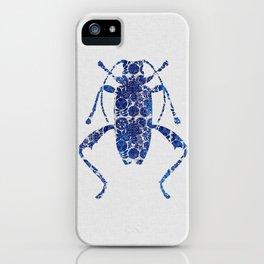 Blue Beetle IV iPhone Case