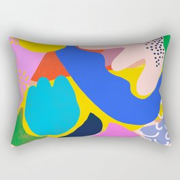 Unbridled Enthusiasm - Shapes and Layers no.38 Rectangular Pillow