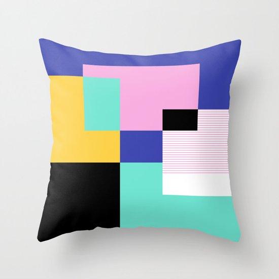 Tile Harmony Throw Pillow