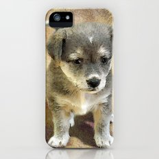 Sad Puppy Slim Case iPhone (5, 5s)