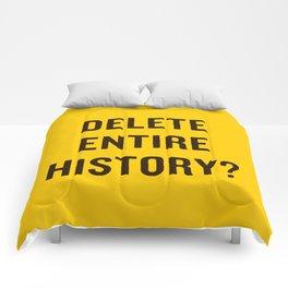 DELETE ENTIRE Comforters