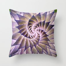 Round and Round. Throw Pillow