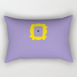 Friends Peephole Frame Rectangular Pillow