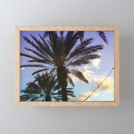 Look up Framed Mini Art Print