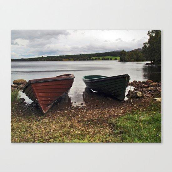 Loch Knockie Canvas Print