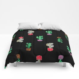Crooked Cacti. Comforters