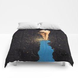 Globular Girl Comforters
