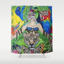 Welcome to the Amazon Shower Curtain
