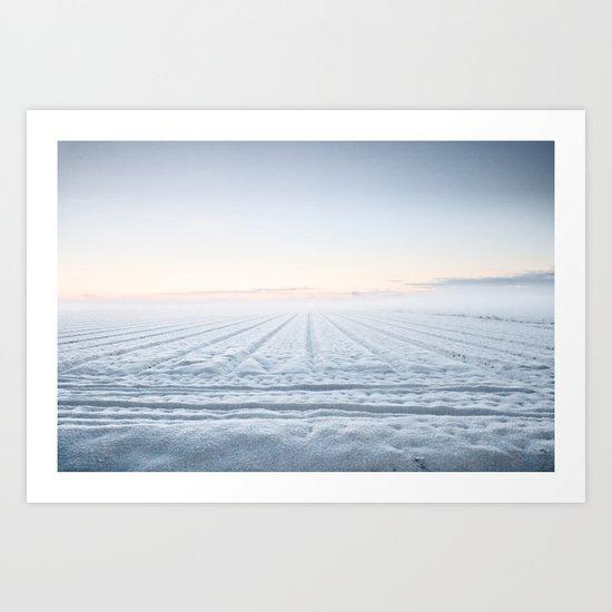 Winter IV Art Print
