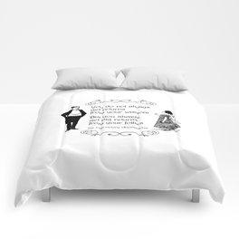 Victorian quote on wisdom Comforters