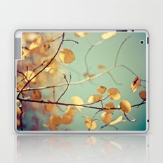 golden aspen Laptop & iPad Skin