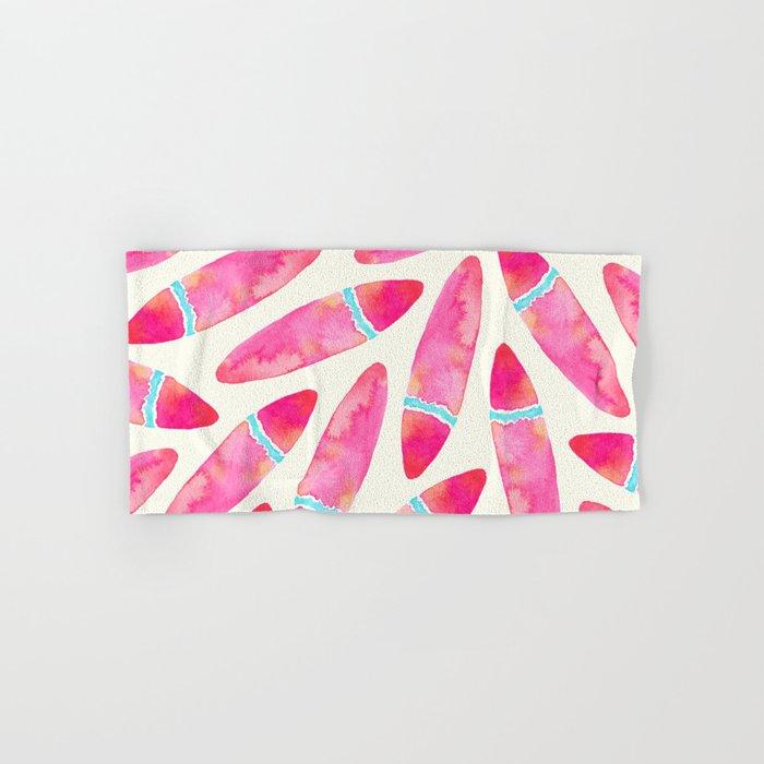 Pink Surf Hand & Bath Towel
