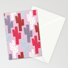 Sweet cactus pattern Stationery Cards