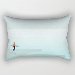 Surfer Sylt Rectangular Pillow