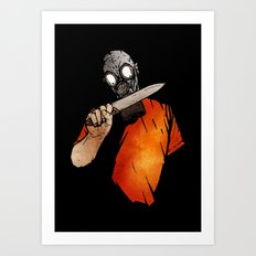 Knives Out Art Print