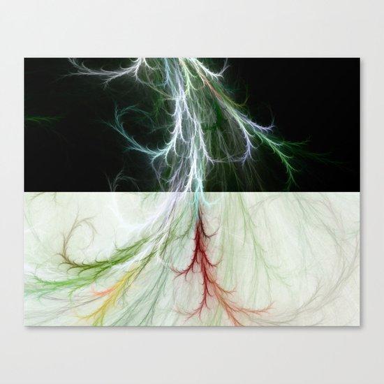 Lightning Dance Canvas Print