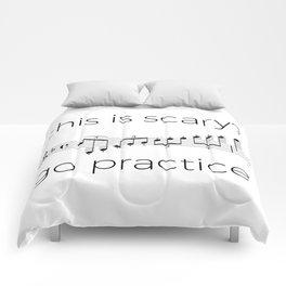 Go practice - clarinet Comforters