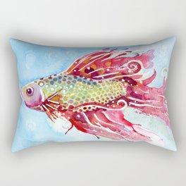 Fish Swim Rectangular Pillow