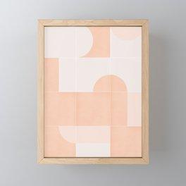 Retro Tiles 06 #society6 #pattern Framed Mini Art Print