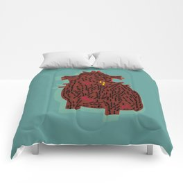 ants and heart Comforters