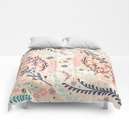 Chinese Flowery Fields Comforters