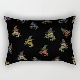 Magic Frogs Rectangular Pillow