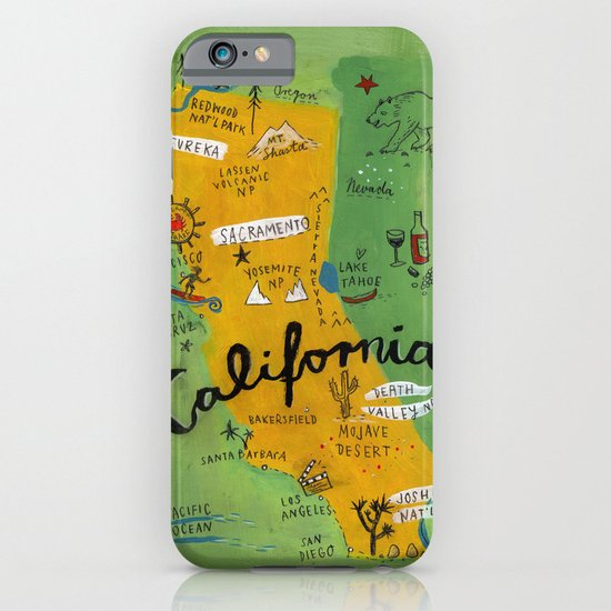 Postcard from California iPhone & iPod Case