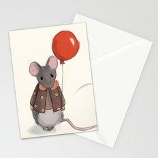 la souris au ballon Stationery Cards