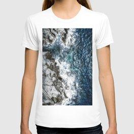 Skagerrak Coastline - Aerial Photography T-shirt