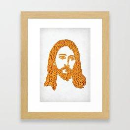 Cheesus Framed Art Print